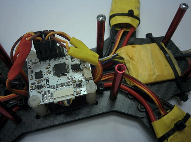 Установка полетного контроллера CC3D