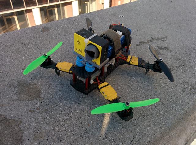 Квадрокоптер на раме ZMR250