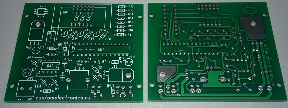Печатная плата Simple Solder MK936