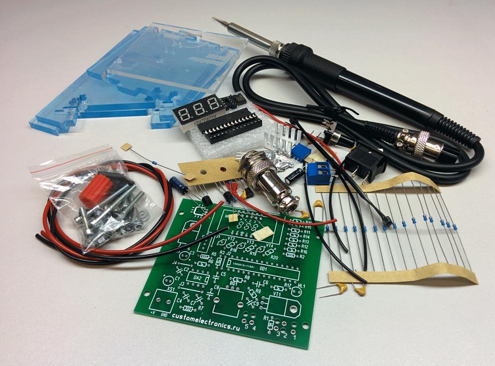 Комплект деталей для сборки паяльной станции Simple Solder MK936